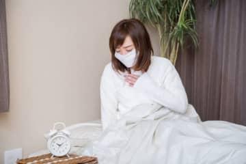 30代の3割以上がインフルエンザが完治する前に出勤していた