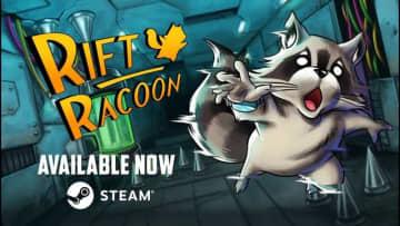 瞬間移動アライグマACT『Rift Racoon』Steam配信開始―跳んで、登って、滑って、そしてテレポート!