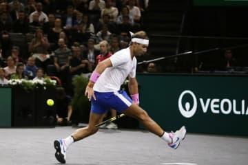「ATP1000 パリ」でのナダル