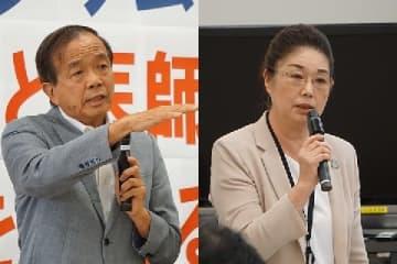 松丸弁護士(左)と寺西さん(いずれも2017年、弁護士ドットコム撮影)