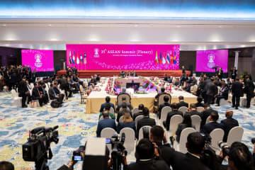 第35回ASEANサミット、首脳会議を開催