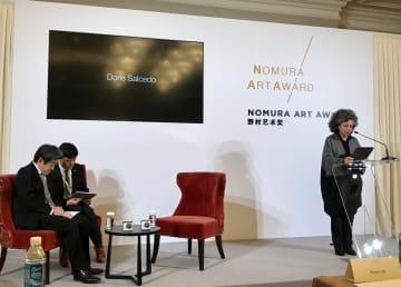 第1回「野村アートアワード」大賞授賞式、上海市で開催 コロンビアの芸術家が受賞