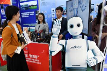 「創青春」中国青年イノベーション起業大会開幕 山東省青島市