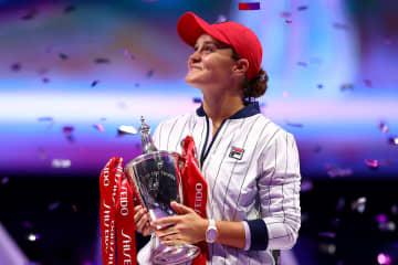 「WTAファイナルズ・深セン」でのバーティ