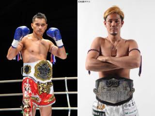 元ルンピニー・ラジャランカーのチューチャイ(左)が出陣、地元名古屋の匡志YAMATO(右)と対戦