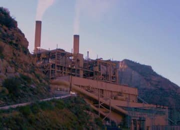 Castle Gate Coal Power Plant in Utah