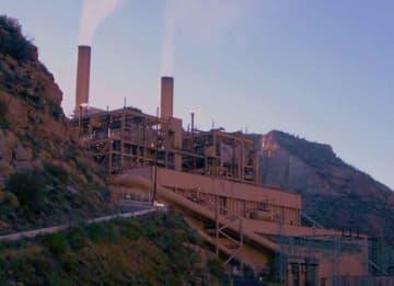 Castle Gate Coal Power Plant in Utah