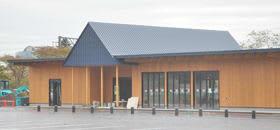 11月に完成、来年4月に運営を開始するインフォメーションセンター