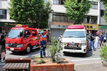 ▲5月の「消防ふれあい広場」の様子