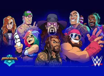 アスカも参戦! 対戦格闘ACT『ブロウルハラ』が米プロレス団体「WWE」と再びコラボ