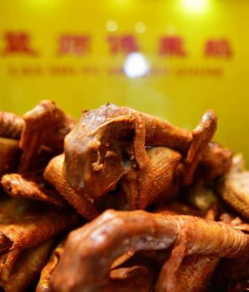伝統の絶品 宴会に欠かせない名物料理「嵐谷燻鵝」 福建省
