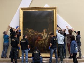 フランスの貴重な美術作品を展示する芸術展、上海で開幕