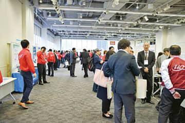 前回の展示会場では出展各社がさまざまなソリューションを紹介し、来場客の関心を引き付けた(写真提供:UOS関東支部)