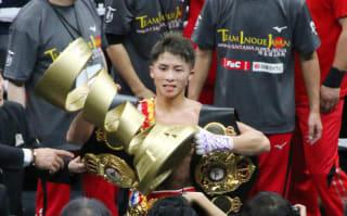 優勝した井上尚弥が「拓真の仇を取る」とウバーリ戦を熱望した