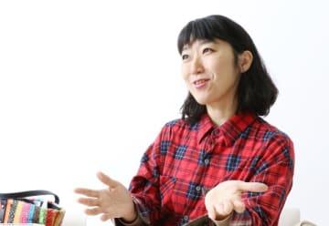 大宮エリーさん(2019年10月31日BOOKウォッチ編集部撮影、以下同)