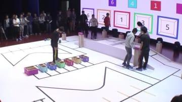 大学生の自作ロボットコンテスト開催 安徽省合肥市
