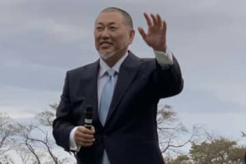 「ワールドトライアウト2019」で監督を務める清原和博氏【写真:編集部】