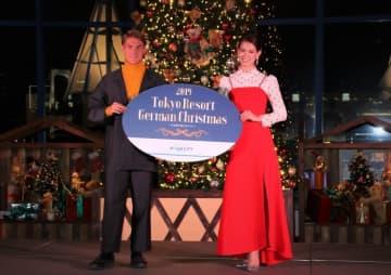 テディベア100体で飾られたクリスマスツリー点灯 トラウデン直美と酒井高徳が語るドイツ