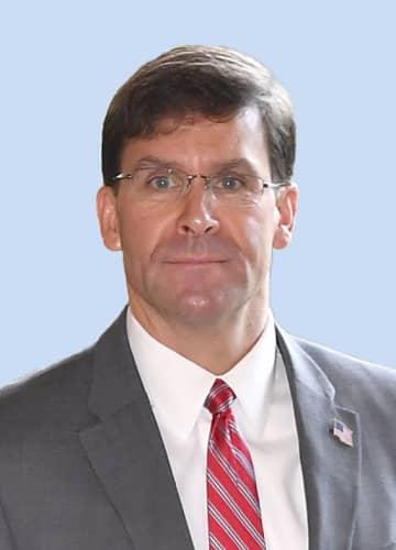 エスパー米国防長官
