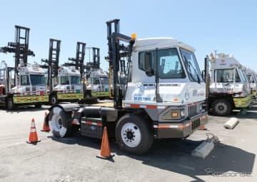 トヨタの燃料電池システムを搭載する港湾向けトレーラーヘッド、「ウノ」