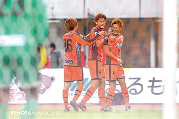 ▲高井選手に次も得点を期待!