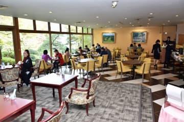 リニューアルオープンした八戸パークホテルのレストラン
