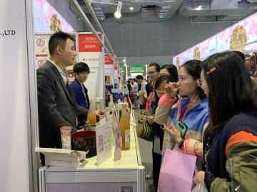 さまざまな日本食品で来場者を魅了 ジャパン・パビリオン 第2回輸入博