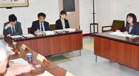 まちづくり活動支援補助金の事業を報告した第3回室蘭市市民協働推進委員会