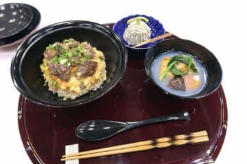「第4回食の縁結び甲子園」で優勝した北海道三笠高の料理