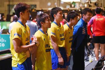 卓球 男子日本代表 Photo:Itaru Chiba