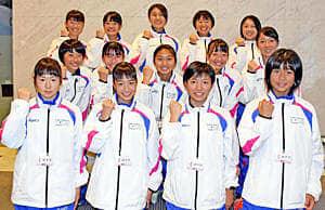 健闘を誓う本県選手団