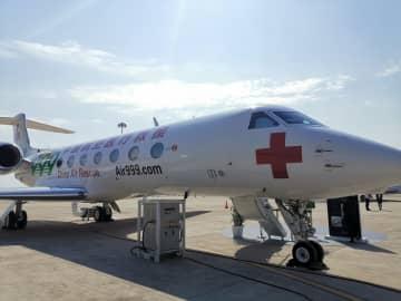 広州で中国ビジネス航空展開催 世界最先端の機種が集合
