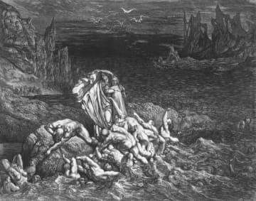 長編叙事詩「神曲 地獄篇」 - Hulton Archive / Getty Images