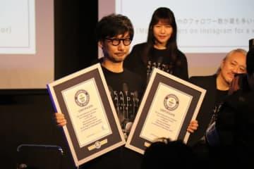 小島監督、ギネス世界記録認定!「Twitterのフォロワー数が最も多いゲームディレクター」含む2つ
