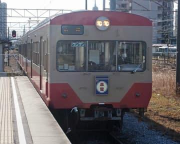 【資料写真】近江鉄道の赤電