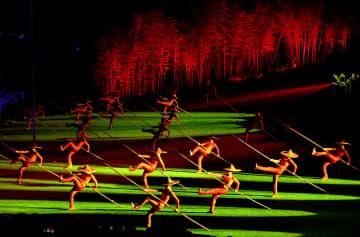 舞台劇「印象大紅袍」、夜間経済を後押し 福建省武夷山市