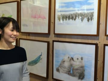 絵本作家の吉田瑠美さん(京都市伏見区・絵本のこたち)
