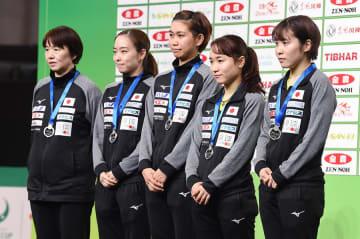卓球女子日本代表 Photo:Itaru Chiba