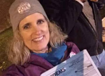 Juli Briskman, Cyclist Who Flipped Off Trump's Motorcade, Elected To Local Office In Virginia