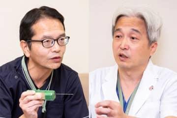 静岡県立静岡がんセンター植松孝悦医師(左)/西村誠一郎乳腺外科部長(右)