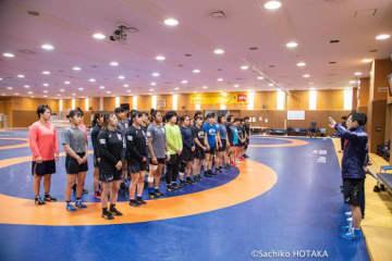 ワールドカップへ向け、合宿をスタートした全日本女子チーム