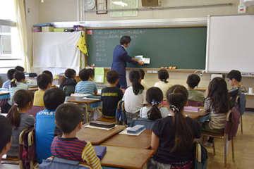大田区立矢口西小学校の公開授業