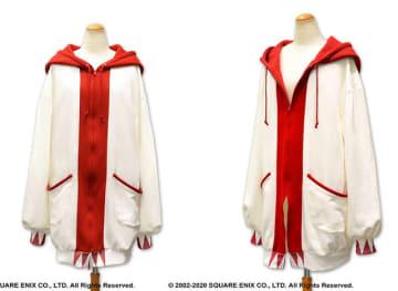 これを羽織れば癒しの力が手に入るかも?『FFXI』白魔道士モデルのロングパーカーが登場!