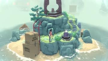 不思議な小島で操作するのは時間…親友同士の思い出を覗くパズルADV『The Gardens Between』