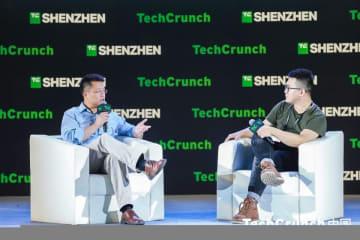 Zhou Wei, founder of China Creation Ventures at TechCrunch on Shenzhen on November 11, 2019 (Image credit: TechCrunch)