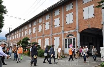 「Origami Pay」での見学料決済対応を始めた富岡製糸場