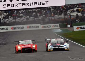 GT500マシンも参戦した、DTM今季最終戦ホッケンハイムの模様(10月)。