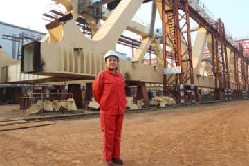一帯一路の「夢の橋」 バングラで橋梁建設に挑む中国の女性エンジニア