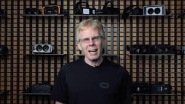 ジョン・カーマック「VRの進歩に満足していない」―自身のVR生涯功労賞受賞について