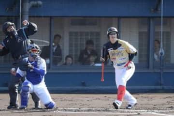 元阪神西岡、トライアウト第1打席は燕村中に対して見逃し三振